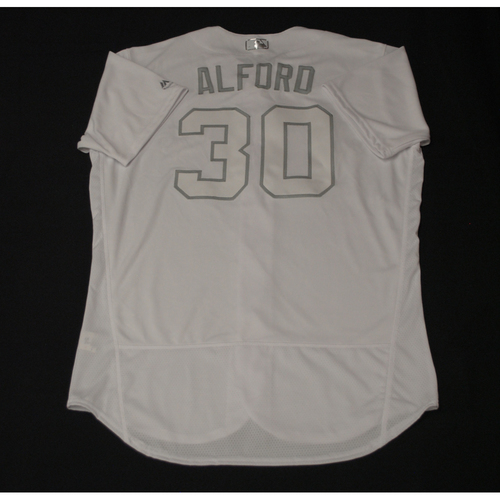 "Photo of Anthony ""ALFORD"" Alford Toronto Blue Jays Team-Issued 2019 Players' Weekend Jersey"