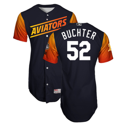 Photo of Ryan Buchter #52 Las Vegas Aviators 2019 Home Alternate Jersey