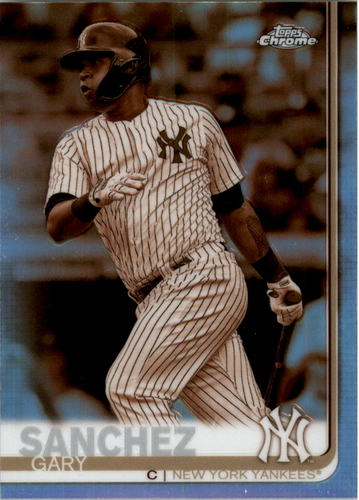 Photo of 2019 Topps Chrome Sepia Refractors #22 Gary Sanchez