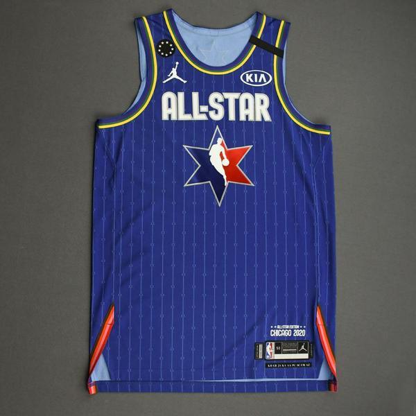 Image of JamesHarden - 2020 NBA All-Star - Team LeBron - Autographed Jersey