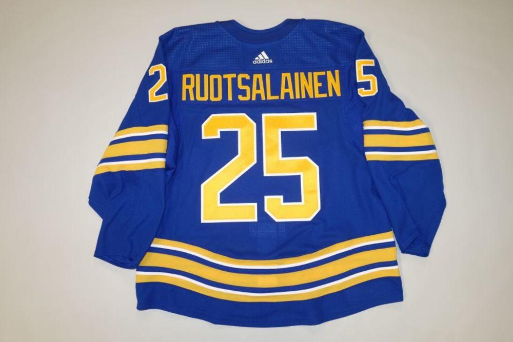 Arttu Ruotsalainen 2020-21 Buffalo Sabres Set 2 Home Jersey