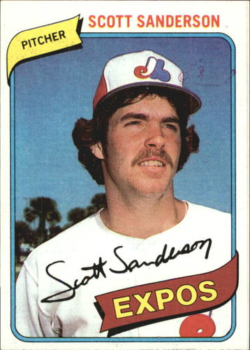 Photo of 1980 Topps #578 Scott Sanderson