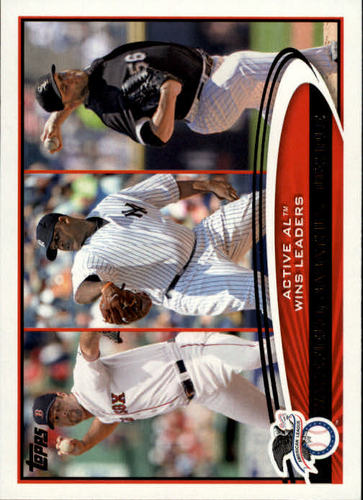 Photo of 2012 Topps #212 Tim Wakefield/CC Sabathia/Mark Buehrle LDR