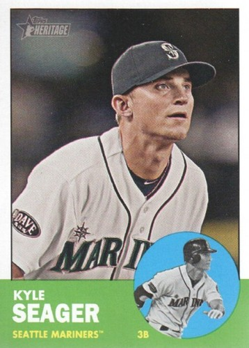 Photo of 2012 Topps Heritage #466 Kyle Seager SP