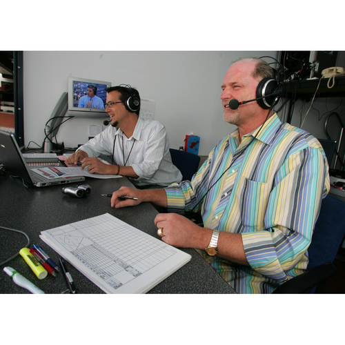 Photo of Broadcast an Inning on Radio with Larry Andersen and Scott Franzke