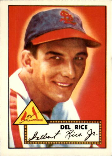 Photo of 1983 Topps 1952 Reprint #100 Del Rice