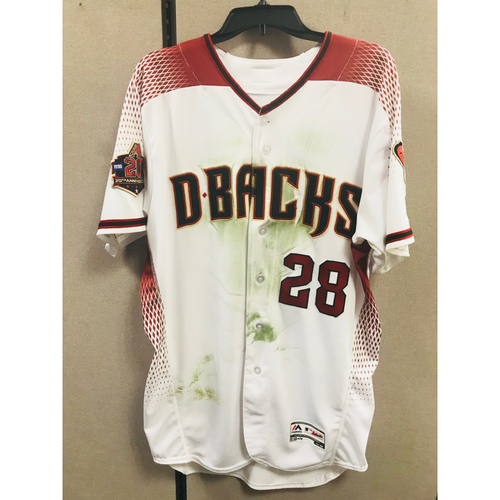 Photo of 7/30/18 Game Used Steven Souza Jr. 3-Run HR Jersey
