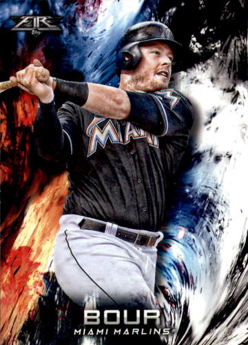 Photo of 2018 Topps Fire #77 Justin Bour