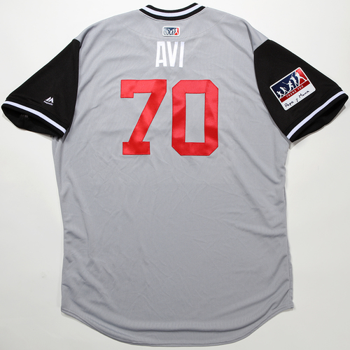 "Photo of Luis ""Avi"" Avilan Chicago White Sox Team-Issued 2018 Players' Weekend Jersey"