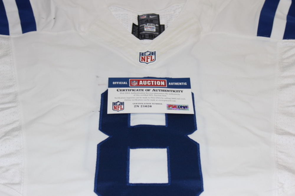 STS - COLTS MATT HASSELBECK GAME WORN COLTS JERSEY (NOVEMBER 22, 2015) (JERSEY WASHED BY EQUIPMENT MANAGER)