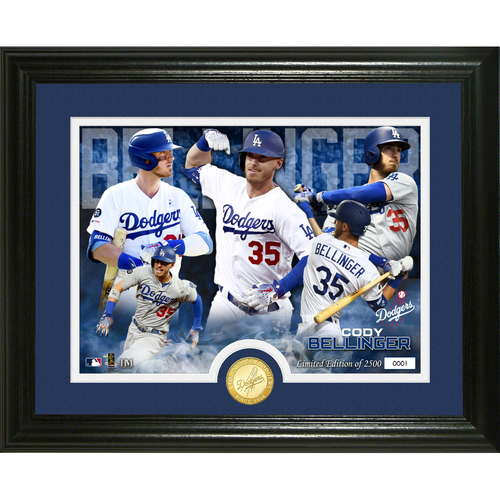 Photo of Cody Bellinger Bronze Coin Photo Mint