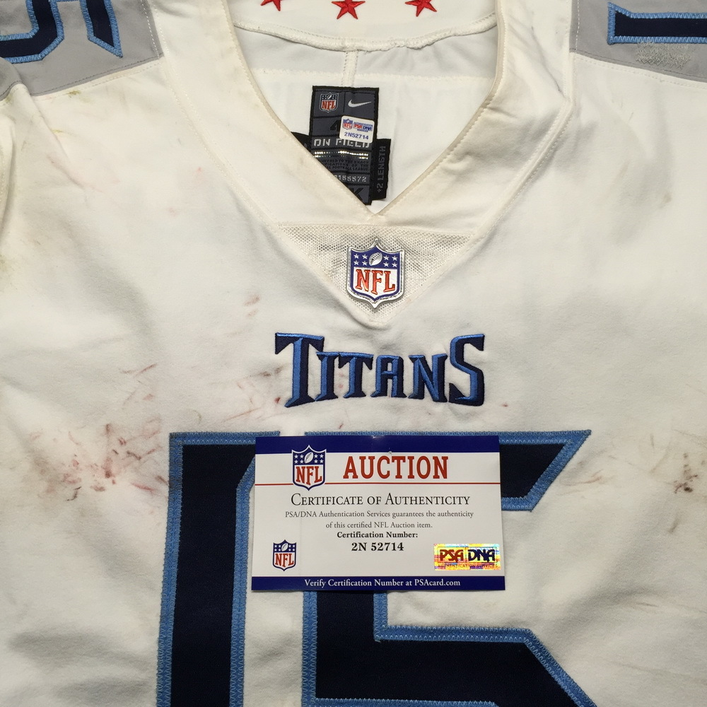 info for 85b83 f2fbd NFL Auction | NFL - London Games Titans Darius Jennings Game ...
