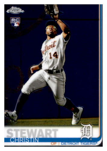 Photo of 2019 Topps Chrome #69 Christin Stewart RC