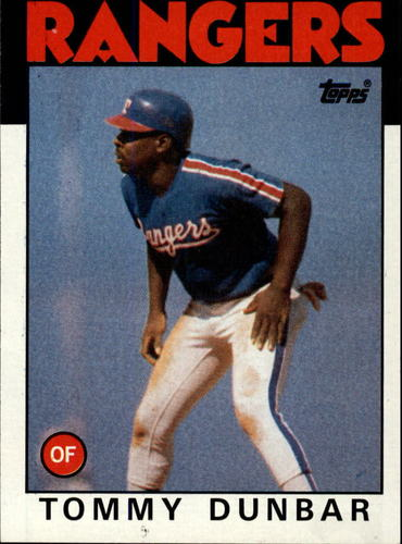 Photo of 1986 Topps #559 Tommy Dunbar
