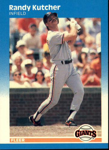 Photo of 1987 Fleer #276 Randy Kutcher