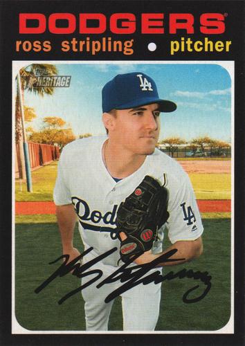 Photo of 2020 Topps Heritage #125 Ross Stripling