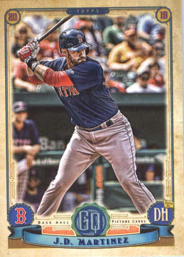 Photo of 2019 Topps Gypsy Queen #122 J.D. Martinez