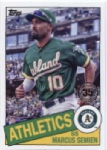 Photo of 2020 Topps '85 Topps Series 2 #85TB33 Marcus Semien