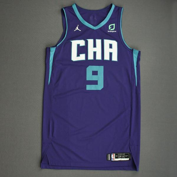 Image of Willy Hernangomez - Charlotte Hornets - Game-Worn Statement Edition Jersey - Dressed, Did Not Play - 2019-20 NBA Season