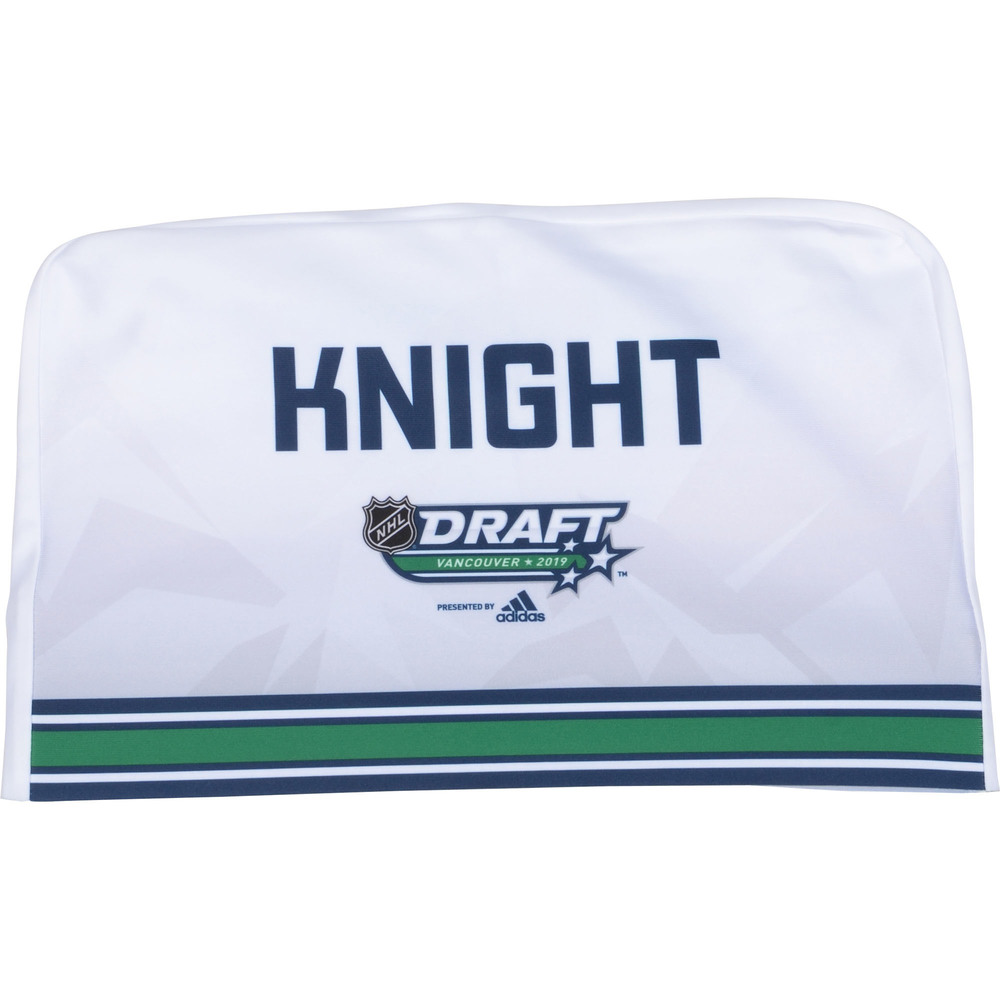 Spencer Knight Florida Panthers 2019 NHL Draft Seat Cover - Second set (Not Used)