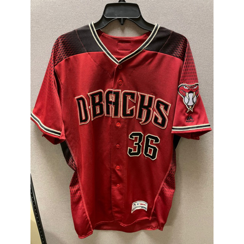 Photo of John Ryan Murphy 2019 Team-Issued Red Alternate Jersey (Size 44)