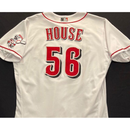 Photo of J.R. House -- 2020 Home White Jersey -- Team Issued -- Size 46