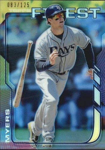 Photo of 2014 Finest Blue Refractors #35 Wil Myers