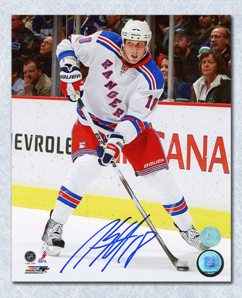 Marc Staal New York Rangers Autographed 8x10 Photo
