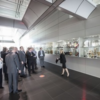 Photo of McLaren-Honda VIP Factory Tour at McLaren Technology Centre - click to expand.