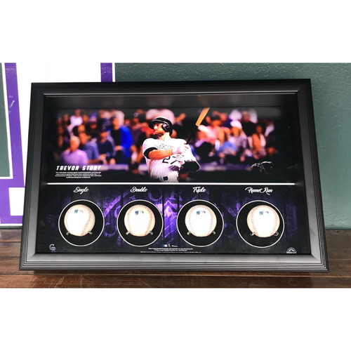 Photo of Colorado Rockies Trevor Story Cycle Piece