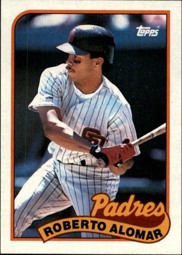 Photo of 1989 Topps #206 Roberto Alomar