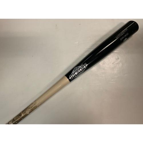 Photo of Game-Used Broken Bat: John Hicks