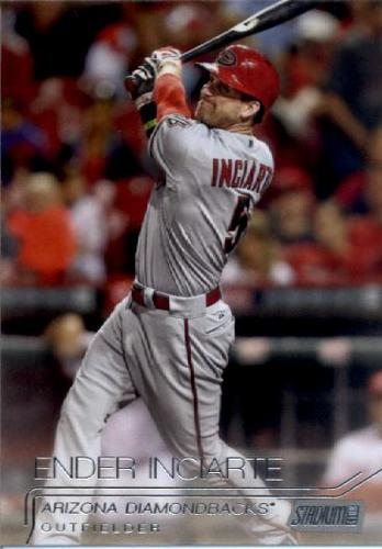 Photo of 2015 Stadium Club #50 Ender Inciarte RC