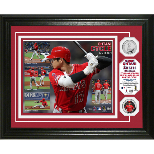 Photo of Shohei Ohtani Cycle Silver Coin Photo Mint