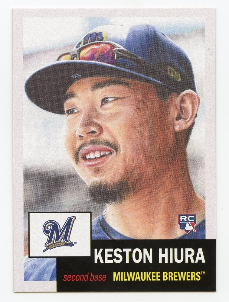 2019 Topps Living #197 Keston Hiura Rookie Card