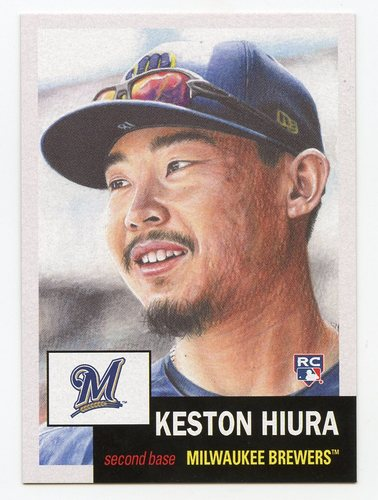 Photo of 2019 Topps Living #197 Keston Hiura Rookie Card