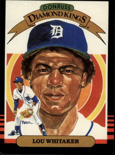 Photo of 1985 Leaf/Donruss #5 Lou Whitaker DK