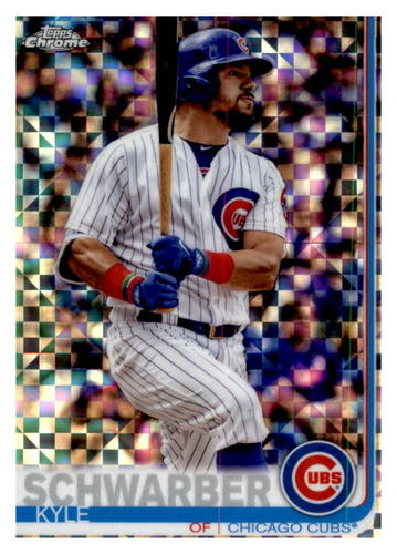 Photo of 2019 Topps Chrome X-Fractors #111 Kyle Schwarber