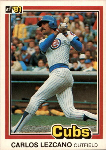 Photo of 1981 Donruss #521 Carlos Lezcano RC