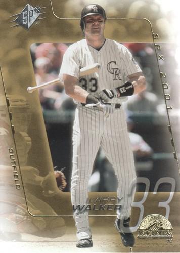 Photo of 2001 SPx #89 Larry Walker