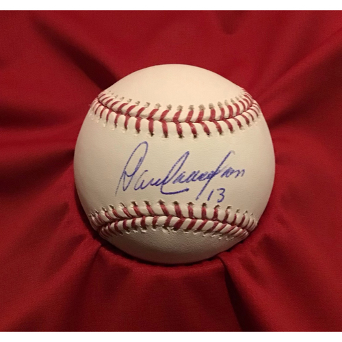 Photo of Dave Concepcion Autographed Baseball
