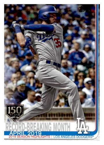 Photo of 2019 Topps Update 150th Anniversary #US113 Cody Bellinger HL CL