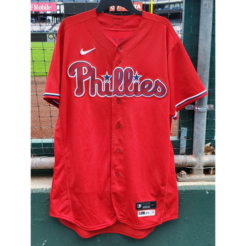 Photo of 2020 Phillies Game-Used Spring Training Jersey - Alec Bohm
