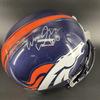 Broncos - Connor McGovern Signed Replica Helmet