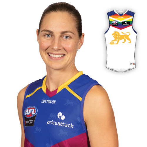 Photo of 2021 AFLW Pride Guernsey - Rheanne Lugg