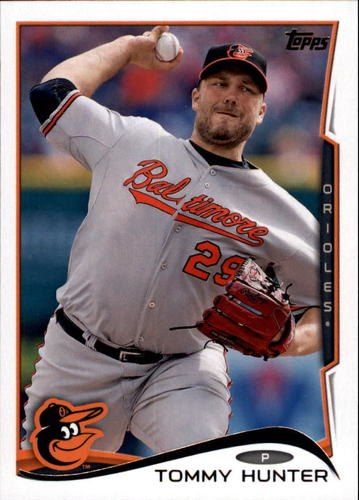 Photo of 2014 Topps Update #US235A Tommy Hunter