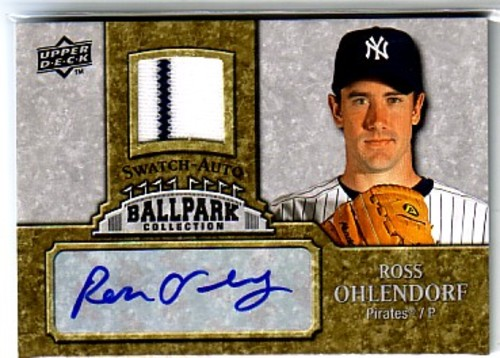 Photo of 2009 Upper Deck Ballpark Collection Jersey Autographs #RO Ross Ohlendorf