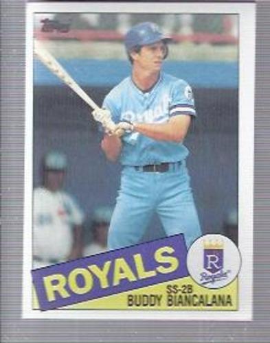 Photo of 1985 Topps #387 Buddy Biancalana