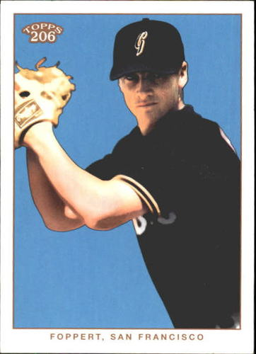 Photo of 2002 Topps 206 #404 Jesse Foppert PROS RC