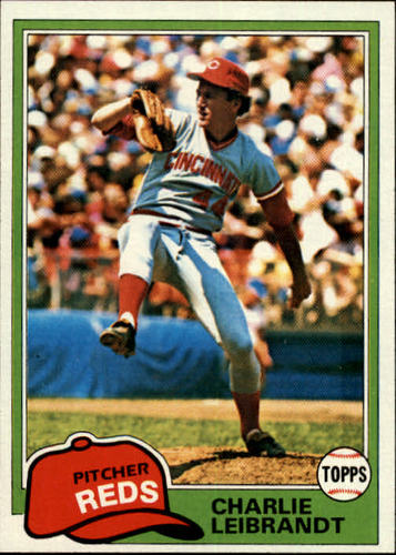 Photo of 1981 Topps #126 Charlie Leibrandt RC